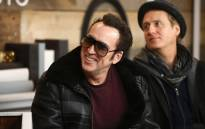 Actors Nicolas Cage and Linus Roache of 'Mandy' attend The IMDb Studio and The IMDb Show on Location at The Sundance Film Festival on 19 January 2018 in Park City, Utah. Picture: AFP