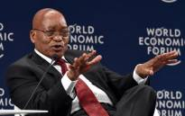 FILE: President Jacob Zuma addressing the official opening of the World Economic Forum on Africa in Durban on 4 May 2017. Picture: GCIS