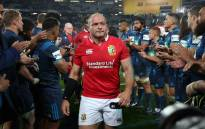 British and Irish Lions' Rory Best. Picture: AFP.