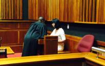 The second alleged victim, Suellen Sheehan, testifying during Bob Hewitt trial on 10 February 2015. Picture: Measego Rahlaga/EWN.