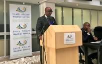SA Weather Services CEO Jerry Lengoasa. Picture: Katleho Sekhotho/EWN