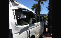 At least 22 people were left injured on Sunday 25 February 2018 after a taxi lost control on the Nelson Mandela Boulevard in Cape Town. Picture: ER24