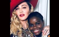 Madonna pictured with her daughter Chifundo 'Mercy' James. Picture: @madonna/instagram.com