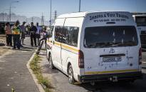 FILE: The bullet-ridden taxi seen after police mistakenly opened fire on it. Picture: Thomas Holder/EWN.