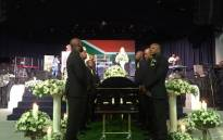 The funeral service for the late Robbie Malinga at the Rhema Bible Church in Johannesburg on 2 January, 2017. Picture: Mia Lindeque/EWN