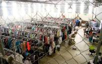 Women buy surplus clothing - customer returns or end-of-season merchandise - at discounted prices from The Clothing Bank and set up small fashion businesses. Picture: Supplied.