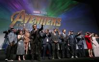 The cast of 'Avengers: Infinity War'. Picture: Facebook.com