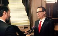 FILE: US Treasury Secretary Steven Mnuchin. Picture: @stevenmnuchin1/Twitter.