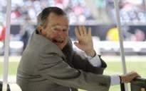 Former US President George HW Bush. Picture: AFP.