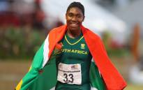 South Africa Caster Semenya wins the 800m final for women during day 5 of the Confederation of African Athletics (CAA) Championships held in Durban, on 26 June 2016. Picture: AFP.