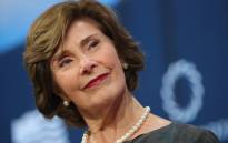 FILE: Former First Lady of United States of America Laura Bush speaks at The 2017 Concordia Annual Summit at Grand Hyatt New York on September 18, 2017 in New York City. Picture: AFP.