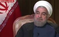 President of Iran Hassan Rouhani talking about how he is blaming Saudi authorities for the Hajj stampede.Picture:Screengrab/CNN