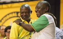 Newly elected ANC deputy president David Mabuza and new party leader Cyril Ramaphosa on 18 December 2017. Picture: Sethembiso Zulu/EWN