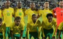 Bafana Bafana players during a team photo ahead of international friendly against Zambia in Rustenburg on 13 June 2017. Picture: Safa.