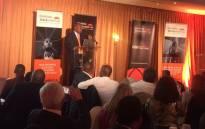 Deputy President Cyril Ramaphosa speaks at the Shanduka Black Umbrella Awards. Picture: Masa Kekana/EWN