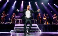 British rock singer Cliff Richard performs at the Ziggo Dome in Amsterdam, on 17 May, 2014. Picture: AFP.