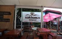 The Sakhumzi Restaurant in Vilakazi Street, Soweto. Picture: Christa Eybers/EWN.