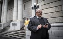 FILE: Former Western Cape police commissioner Arno Lamoer outside the Western Cape High Court. Picture: Thomas Holder/EWN.