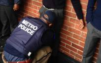 Cape Town Metro police officials carried out drug raids at Walmer Secondary School on 15 May 2014. Picture: Lauren Isaacs/EWN.
