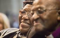 FILE: Leah Tutu with husband Archbishop Emeritus Desmond Tutu. Picture: EWN.
