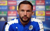 Leicester City's English midfielder Danny Drinkwater speaks during a press conference at The King Power stadium in Leicester, central England on 13 March, 2017. Picture: AFP.