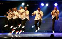 FILE: Grammy Award winners Ladysmith Black Mambazo perform at the International Convention Centre (ICC) in Durban. Picture: AFP