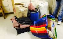Crime Intelligence driven operation led to arrest of 3 suspects in Kubusi Location for dealing with dagga. 38 bags dagga seized. Picture: SAPS  Twitter @SAPoliceService