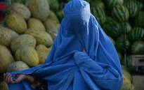 An Afghan woman wearing the burqa. Picture: AFP