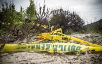 FILE: Police tape at a crime scene. Picture: Thomas Holder/EWN