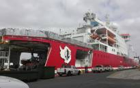 Experts on board the SA Agulhas 2 are preparing for the marine research expedition before embarking on the next leg. Picture: Shamiela Fisher/EWN.
