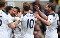 Harry Kane wrapped up Tottenham's seventh successive league win after 48 minutes. Picture: Twitter @JanVertonghen