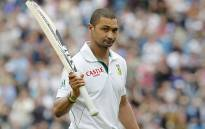 FILE: Alviro Petersen acknowledges the crowd following his dismissal after scoring 182 against England Headingley Carnegie on 3 August 2012. Picture: AFP