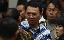 Jakarta's Christian governor Basuki Tjahaja Purnama (C), popularly known as Ahok. Picture: AFP