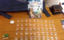 It's suspected the 31-year-old was dealing in the substances. Picture: @SAPoliceService.