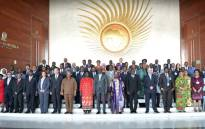 Africa leaders gathering for a photo call ahead of the 30th African Union summit in Addis Ababa. Picture: @_AfricanUnion/Twitter.