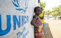 The UNHCR and partners opened a new settlement area in Arua district, northern Uganda in February 2017 to host thousands of refugees arriving from South Sudan. Picture: United Nations Photo.