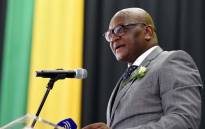Mr David Makhura pays tributes on behalf of the people of Gauteng during the funeral service of the late Ambassador Sipho George Nene. Picture: Dirco.