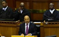 Finance Minister Pravin Gordhan delivers his 2017 Budget Speech in Parliament. Picture: GCIS.