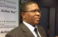 Sports Minister Fikile Mbalula. Picture: Marc Lewis/EWN