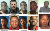 FILE: Some of the 20 awaiting trial prisoners who escaped while being transported to the Johannesburg Prison on 22 August 2017. Picture: SAPS.