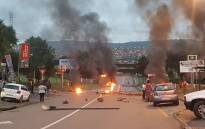 Residents blocked entrances into Atteridgeville on 24 February 2017. Picture: @ChabaneTT