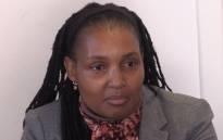 FILE: Nokuthula Simelane's sister, Thembi Nkandimeng. Picture: Kgothatso Mogale/EWN.
