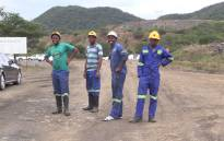 FILE: Miners at Lily Mine in Barberton Mpumalanga. Picture: Kgothatso Mogale/EWN.