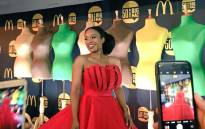 A model wears a Big Mac-inspired design by Gert-Johan Coetzee at the South African Fashion Week on 12 April 2018. Picture: Supplied