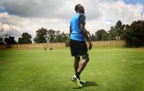 Olympic sprint legend Usain Bolt at Mamelodi Sundowns FC, Chloorkop on Monday 29 January 2018. Picture; Sethembiso Zulu/EWN