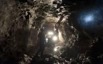 Mine shaft. Picture: AFP