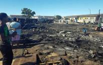 Over 120 people were left displaced after a fire in Leonsdale, Elsies River on Sunday, 17 December 2017. Picture: facebook.com