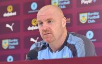 Burnley manager Sean Dyche. Picture: Twitter/ @BurnleyOfficial.