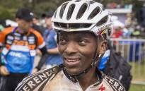 Sipho Madolo smiles after finishing the 2016 Absa Cape Epic on 20 March 2016. Picture: Aletta Harrison/EWN
