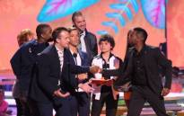Nickelodeon's 27th Annual Kids' Choice Awards was held in Los Angeles on 29 March. Picture: AFP.